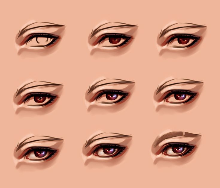 eye process 2 by ryky tutorial drawing sketch pinterest