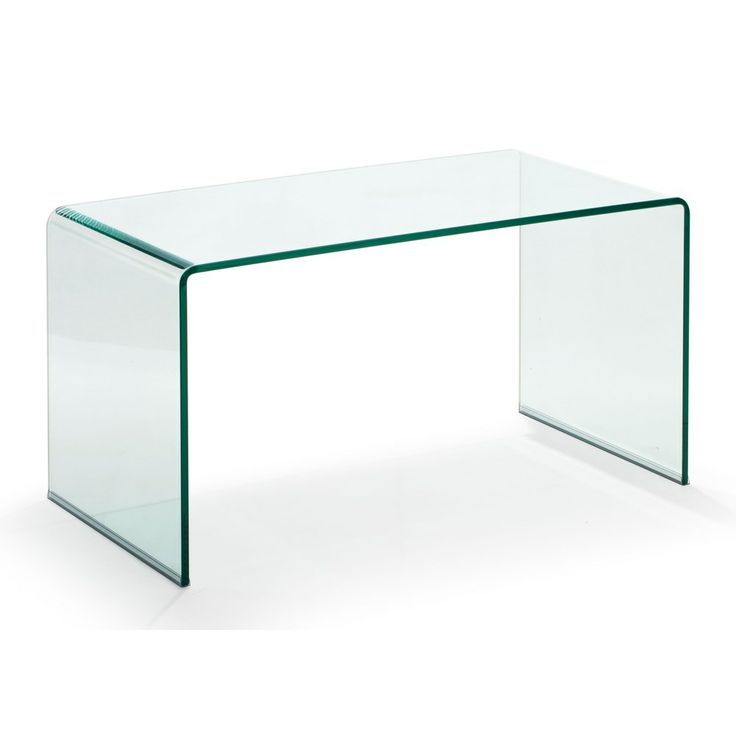 Course Clear Glass Coffee Table