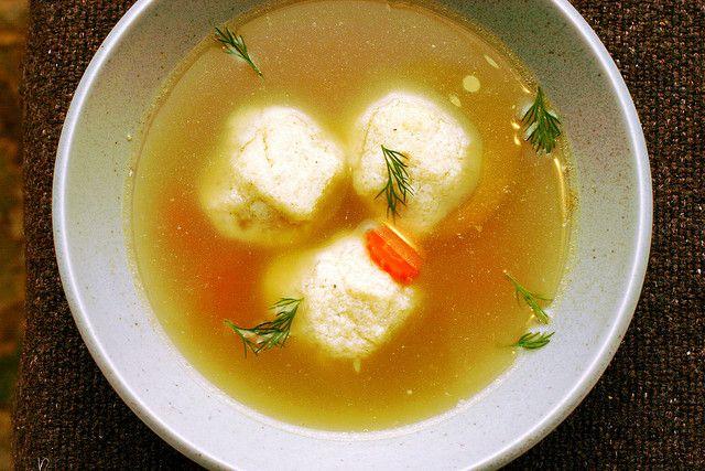 matzo ball soup by smitten kitchen - comfort food x 1000000000