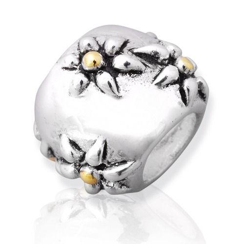 925 Silber Bead mit Gewinde
