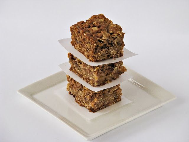 Apricot oatmeal bars | Snacks and Appetizers | Pinterest