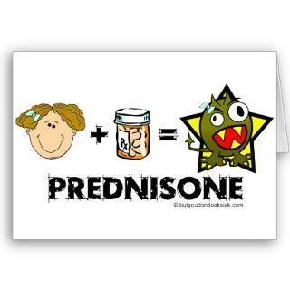 insomnia and prednisone