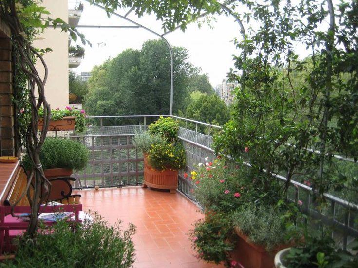 Apartment home balcony garden design home balcony for Home balcony garden