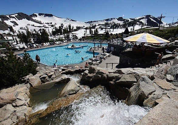 Lake Tahoe Free Tram High Camp Pool With Squaw Valley Stay