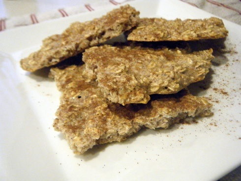 Protein Oatmeal Crackers - next cooking date kel!