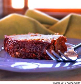 Brown Sugar Glazed Turkey Meatloaf - The trick to make a tasty gluten ...