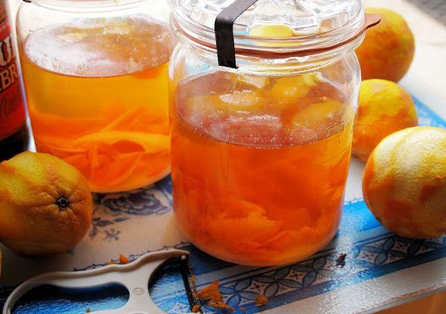 Homemade orange Liqueur recipe aka Santa's Little Helper from Lavender ...