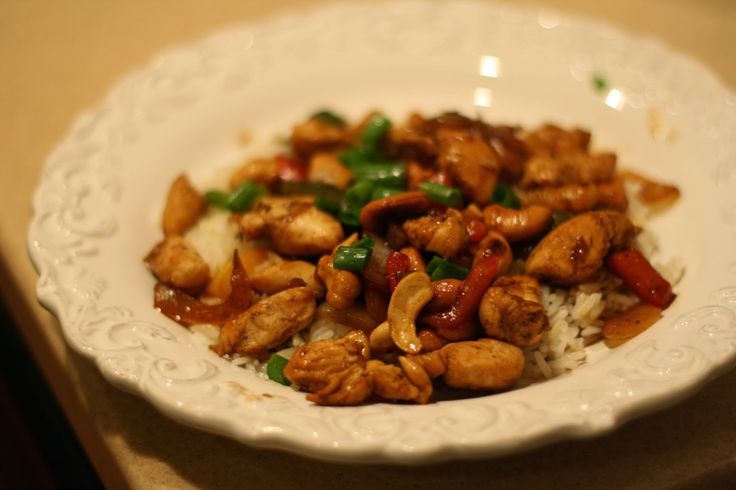 thai chicken with cashews