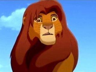 matthew broderick in lion king 2 simbas pride lion