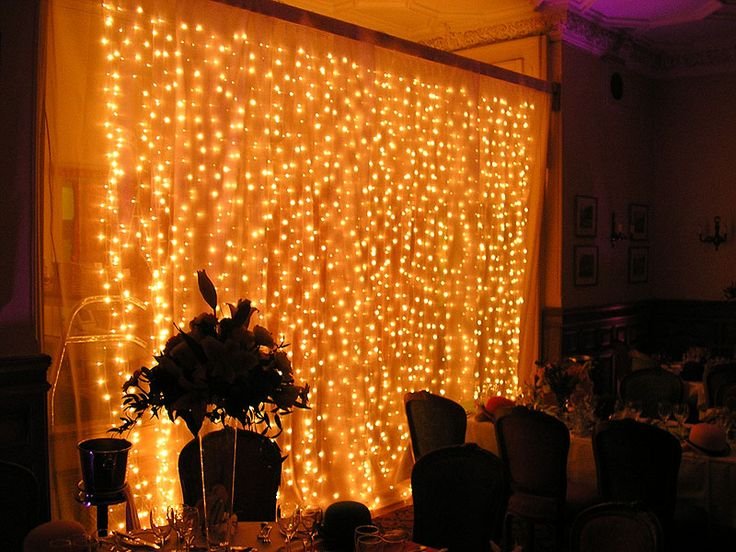 Netwall And Ceiling Light Sets : christmas light backdrop wedding  disney themed weddings sample ...