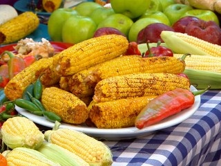 Smoky~Spicy Grilled Corn | Food | Pinterest