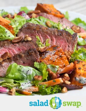 Instead of Steak & Potatoes try this Grilled Skirt Steak with Roasted ...