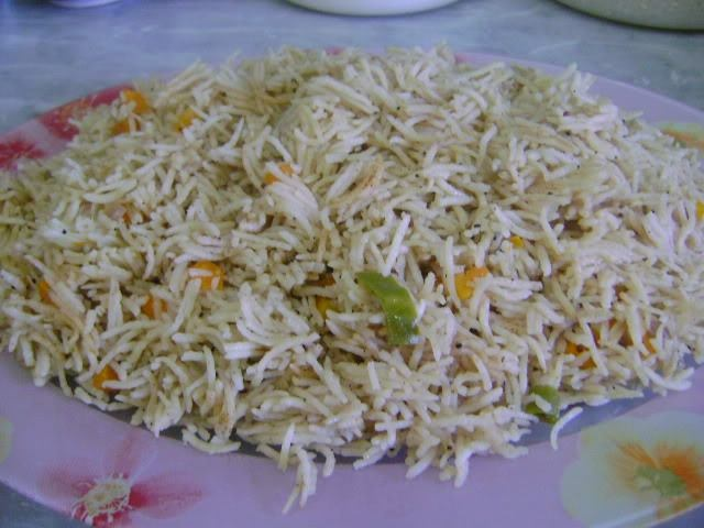 Vegetable Rice Pilaf | Middle Eastern & North African Food | Pinterest