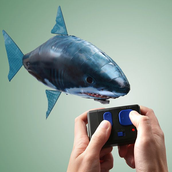 Remote controlled flying shark ...perfect toy for Father's Day Gift? ... PetsLady.com