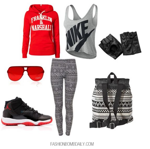 cute outfit wbred 11s cute outfits pinterest