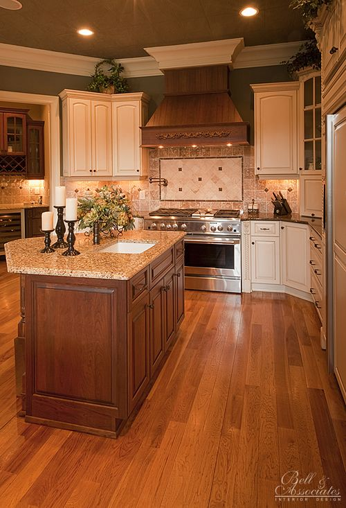 kitchen island range for the home