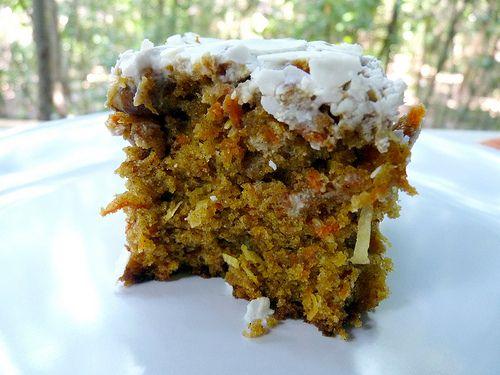 ... cinnamon, shredded carrots, canola oil, orange juice, golden raisins