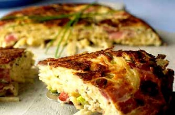 Leftover pasta? Try this frittata and make the pasta gluten free ...
