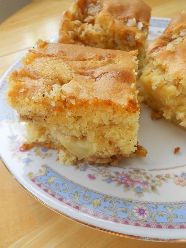 Culinary Couture: Good Morning Apple Cake using a cake mix