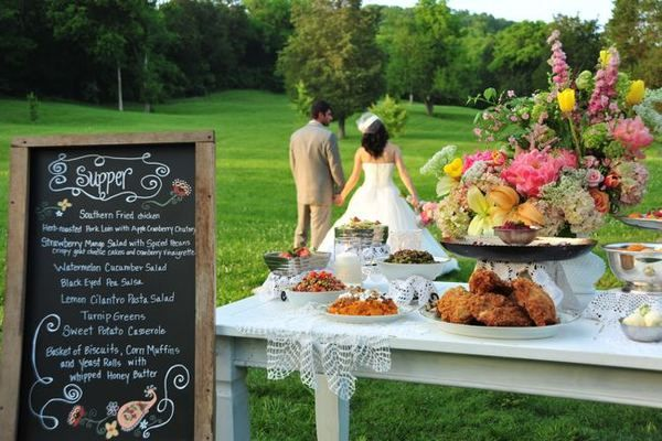 Southern Wedding Buffet