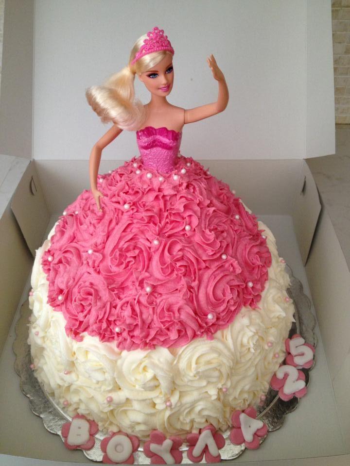 princess Barbie cake Birthday cakes - by Erika ...