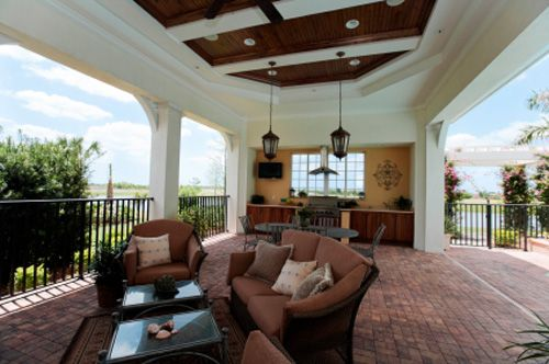 Custom Outdoor Kitchens in Cape Coral  Outdoor Living  Pinterest