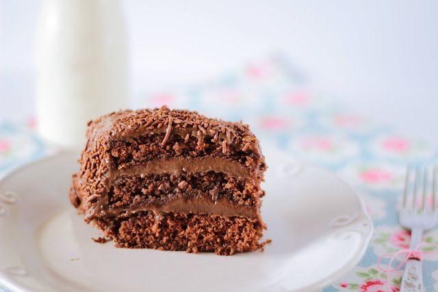 bolo de brigadeiro molhadinho