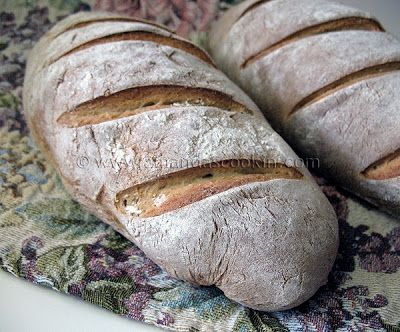 Rustic Rosemary Garlic Bread - Amanda's Cookin'