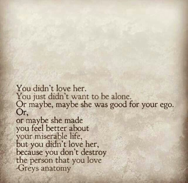 Greys anatomy quote  quotes .  Pinterest