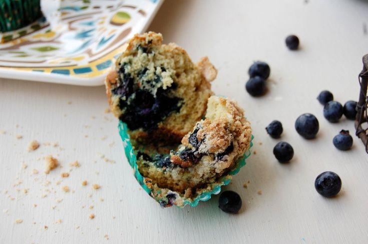 Gluten Free Lemon Blueberry Muffins & easy Gluten Free All Purpose ...