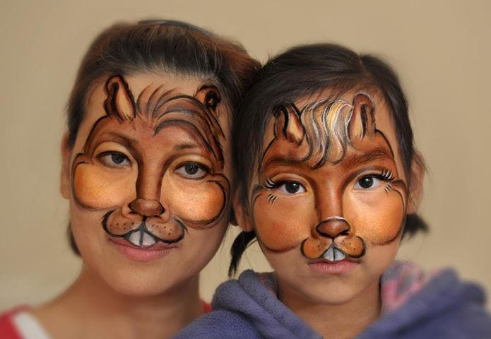 Back gt gallery for gt chipette face paint