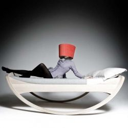 It's a bed. It's a cradle. It's a cloud. Oh no, it's the Private Cloud, designed by Mkloker.