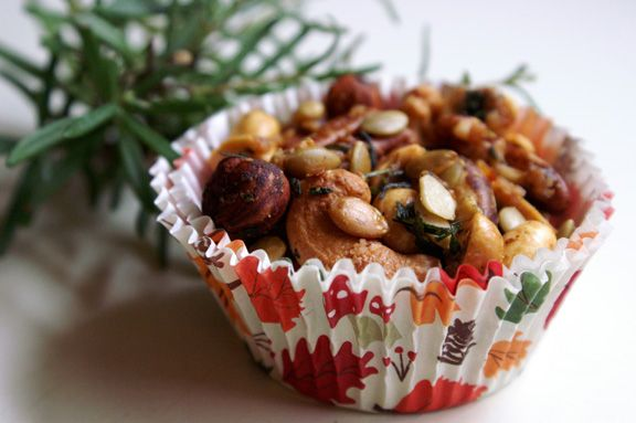 Sweet And Salty Spiced Nuts Recipe — Dishmaps