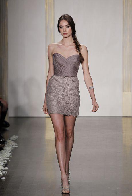 Lazaro Bridesmaid Dresses - List Of Wedding Dresses