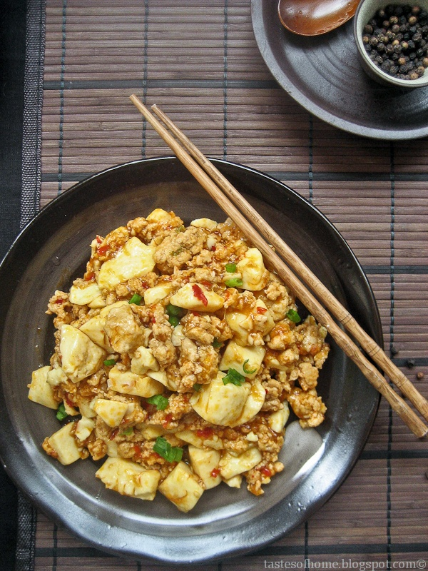 ... : Classic Sichuan spicy bean curd #Ma_Po_Tofu #Tofu #tasteofhome
