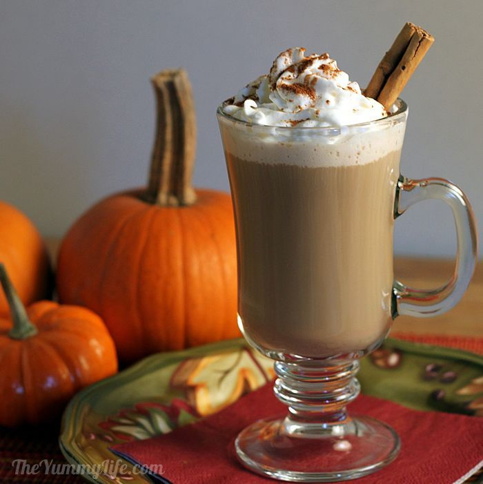 Maple Pumpkin Spice Lattes | Recipe