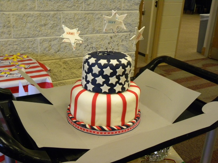 Cake Design By Damaris : Veteran s day cake CAKES by Julie Pinterest