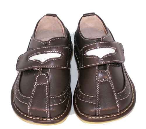 Puddle Jumpers Shoes Dark Brown Loafer