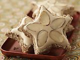 Zimststerne traditional german christmas cookie  flour free so gluten free!!!