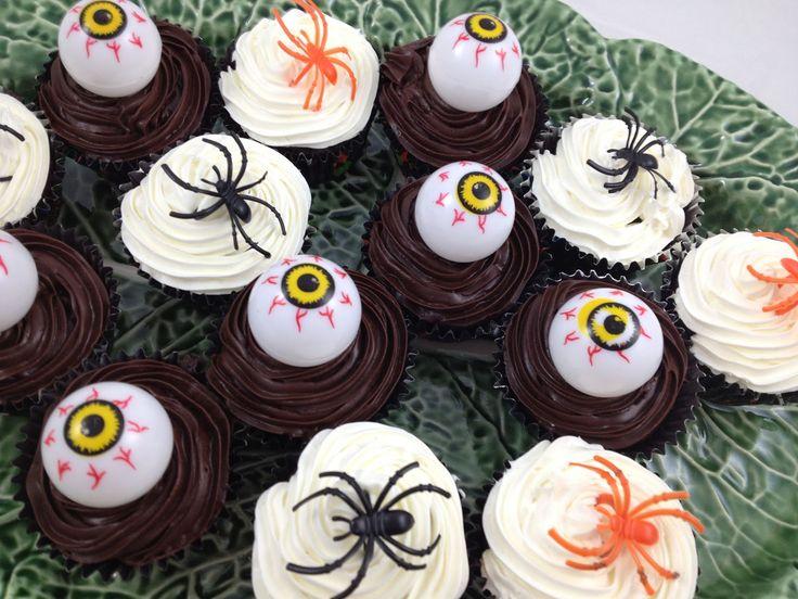 Gluten Free Halloween Quinoa Chocolate Cupcakes | Gluten Free ...