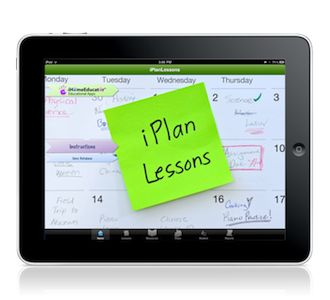This is an AMAZING lesson planning app. You can email the plans, print them out, etc., for record keeping purposes.  Color coded for each student's records.