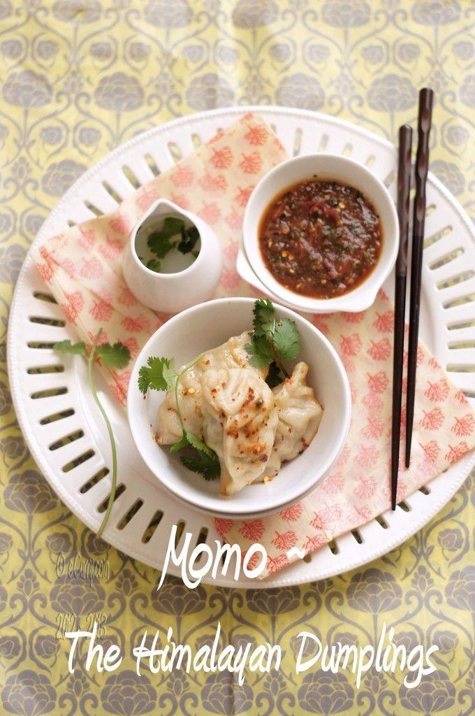 momo- The Himalayan dumpling with spicy tomato chutney 😜 yummo ...