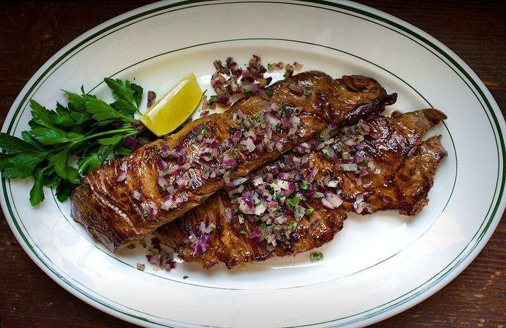 Cuban steak   Food   Pinterest
