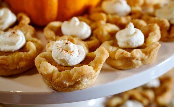 Mini Pumpkin Tarts | Cakes and sweet stuff | Pinterest