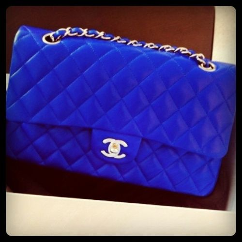 Cobalt Blue Chanel Purse