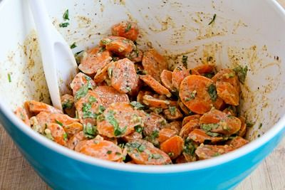 Barely-Cooked Carrots with Tahini, Lemon, Garlic, and Sumac Dressing ...