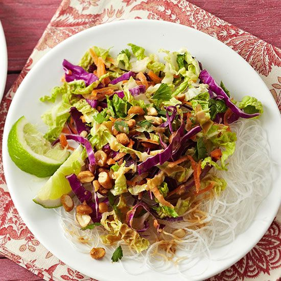 Cabbage and Carrot Salad with Peanut Sauce from the Better Homes and ...