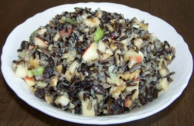 Wild Rice Salad with Apples and Walnuts | Recipes | Pinterest
