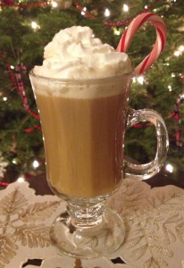 Peppermint Coffee Toddy | from our blog | Pinterest