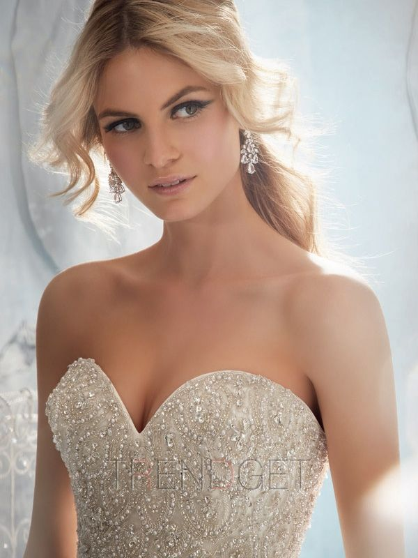 Elegant Ball Gown Cathedral